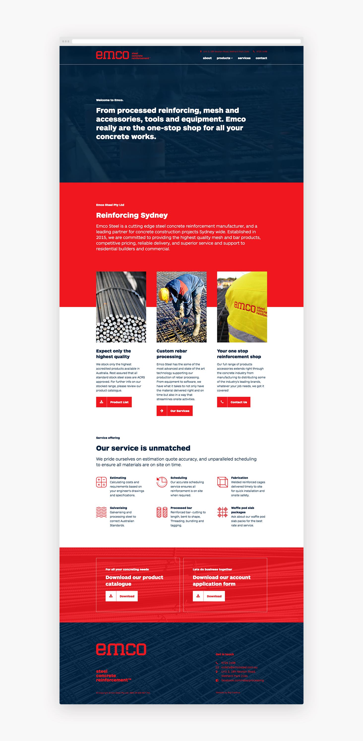 Emco Steel | Big Creativa